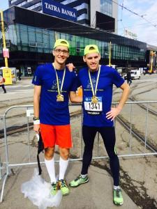 ja & Luky - Prvomaratónci po preteku